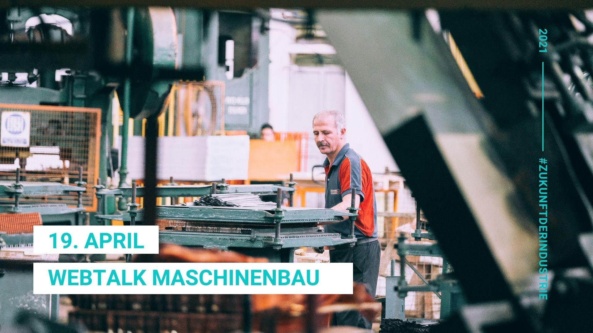 Webtalk Maschinenbau